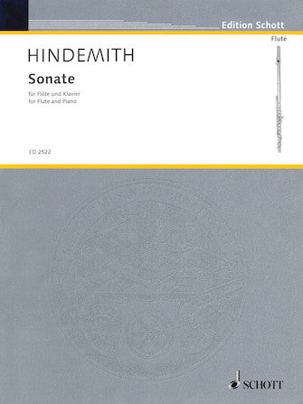 Sonata for Flute and Piano - Hindemith