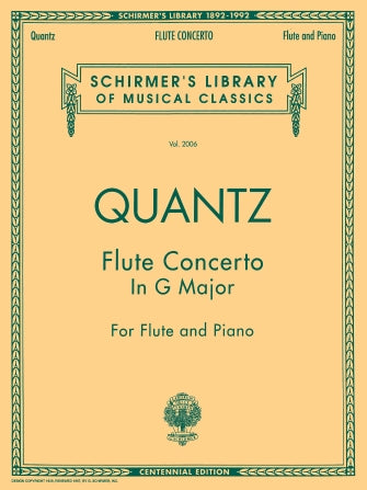 Concerto in G Major for Flute and Piano - Quantz