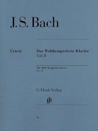 The Well-Tempered Clavier, Part II BWV 870-893 - J.S. Bach