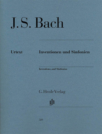 Inventions and Sinfonias - J.S. Bach