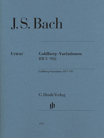 Goldberg Variations BWV 988 - J.S. Bach; Edition without Fingerings
