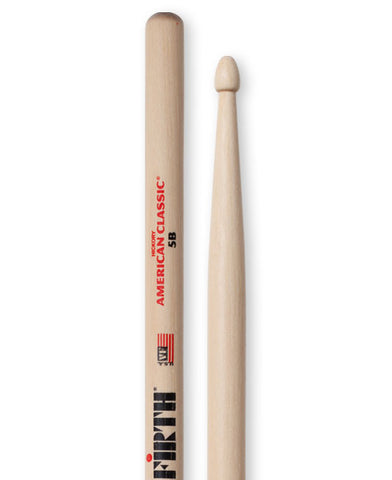 Vic Firth American Classic 5B Wood Tip Drumsticks