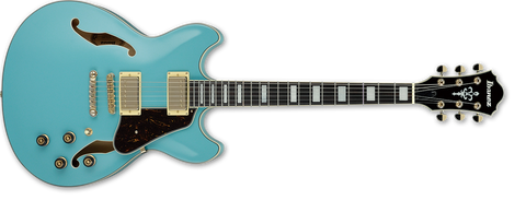 Ibanez Artcore Series Mint Blue Hollow Body Electric Guitar