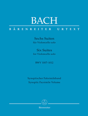 Six Suites for Solo Cello (Barenreiter Edition) - Bach