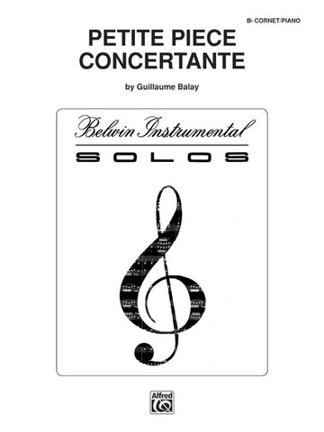 Petite Piece Concertante for Trumpet & Piano - Balay