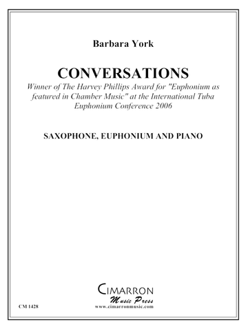 Conversations for Saxophone, Euphonium, and Piano - York