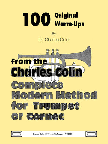 100 Original Warm Ups for Trumpet - Colins