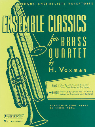 Ensemble Classics for Brass Quartet, Book 2