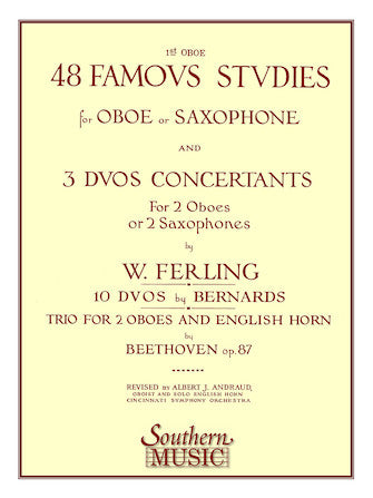 48 Famous Studies Studies for Oboe or Saxophone