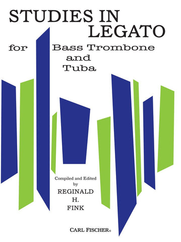 Studies in Legato for Bass Trombone or Tuba - Fink