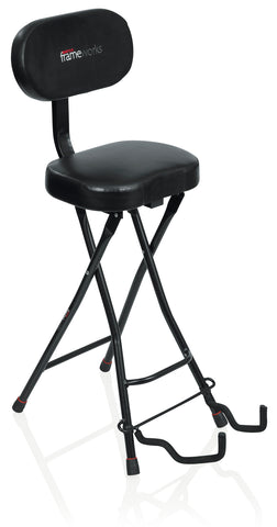 Gator Frameworks Guitar Seat & Stand Combo