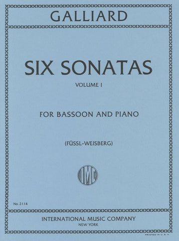 Six Sonatas for Bassoon & Piano: Volume I - Galliard