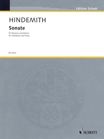 Hindemith Sonata for Trombone & Piano