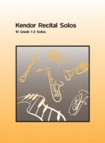 Kendor Recital Solos: Piano Accompaniment for French Horn