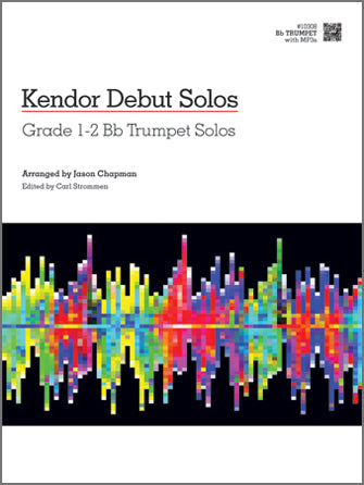 Kendor Debut Solos for Trumpet Solo, Grade 1-2