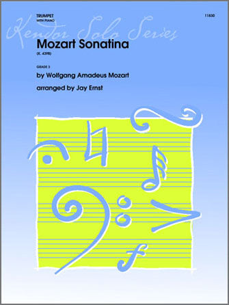 Mozart Sonatina for Trumpet & Piano
