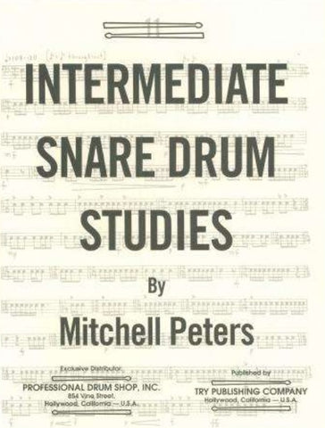 Intermediate Snare Drum Studies - Peters