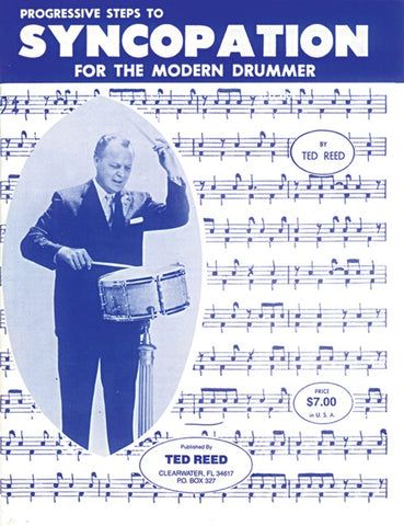 Progressive Steps to Syncopation for the Modern Drummer - Reed