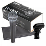 Shure SM58 Unidirectional Dynamic Vocal Microphone