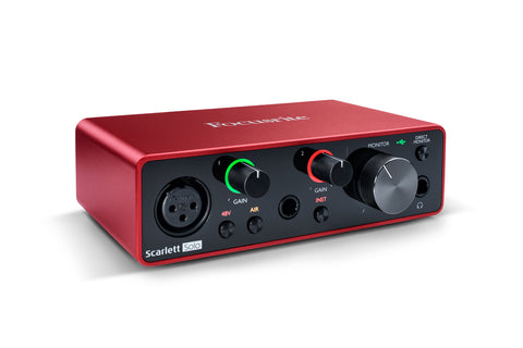 Focusrite Scarlett Solo USB Audio Interface (3rd Generation)
