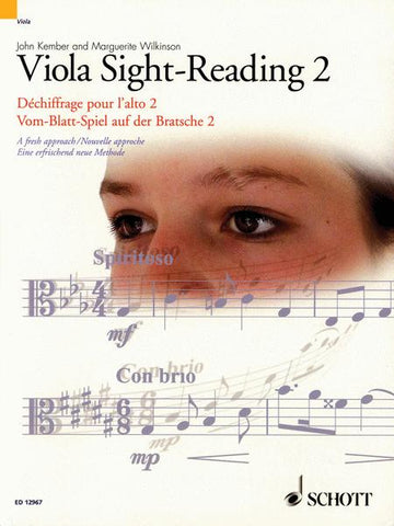 Sight-Reading Book 2 for Viola, by John Kember