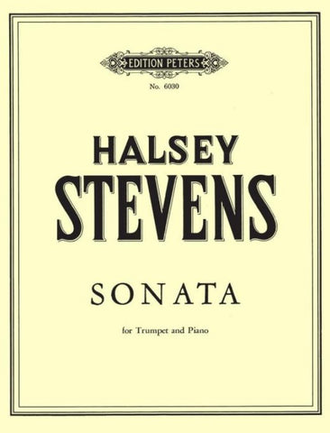 Stevens Sonata for Trumpet & Piano