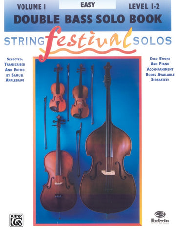 String Festival Solos for String Bass, Volume 1 Levels 1-2