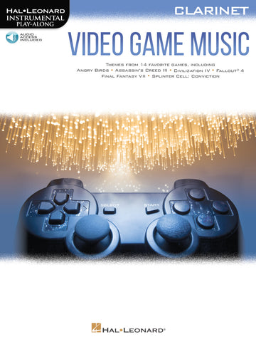 Hal Leonard Instrumental Play-Along -Video Game Music for Clarinet