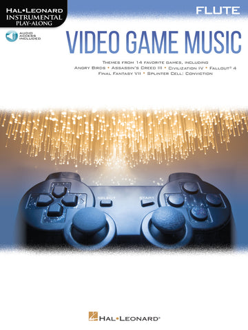Hal Leonard Instrumental Play-Along -Video Game Music for Flute