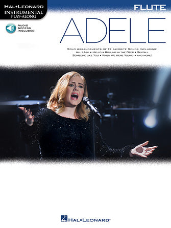 Hal Leonard Instrumental Play-Along -Adele for Flute