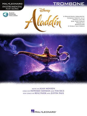 Hal Leonard Instrumental Play-Along - Disney's Aladdin for Trombone