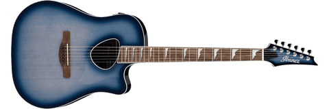 Ibanez ALT30IBB Altstar Indigo Blue Burst Acoustic Electric Guitar
