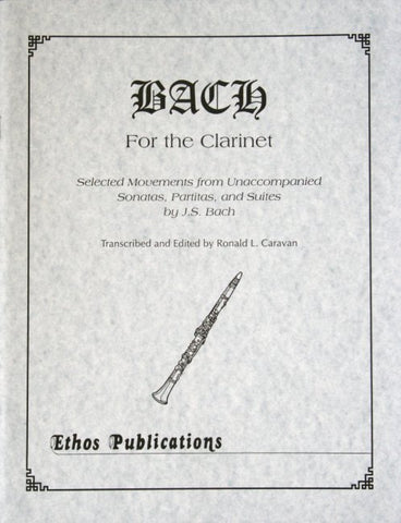 Bach for the Clarinet - Caravan
