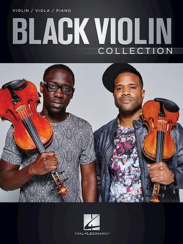 Black Violin- Collection for Violin/Viola/Piano