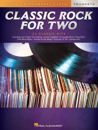 Easy Instrumental Duets-Classic Rock for Two Trumpets
