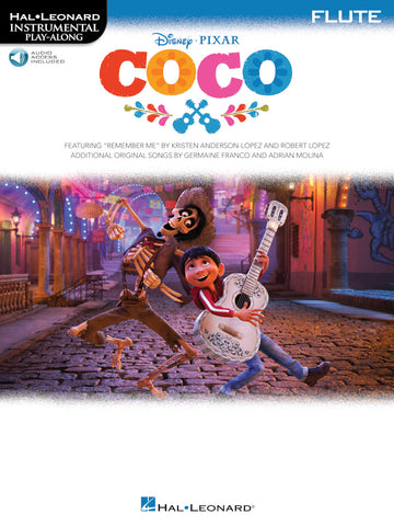Hal Leonard Instrumental Play-Along -Disney's Coco for Flute