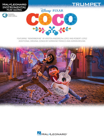 Hal Leonard Instrumental Play-Along -Disney's Coco for Trumpet