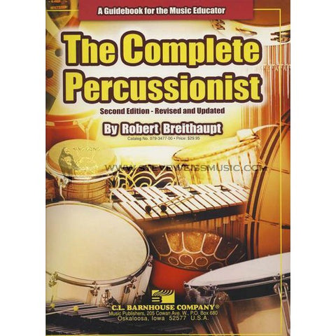 The Complete Percussionist by Bob Breithaupt