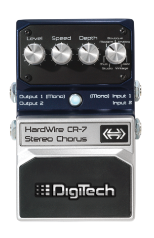 DigiTech Hardwire CR-7 Stereo Chorus Pedal
