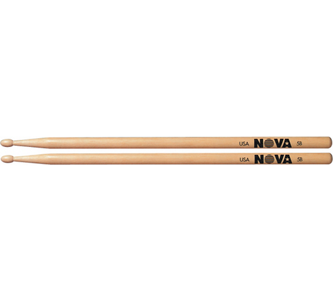 Vic Firth Nova 5B Wood Tip Drumsticks