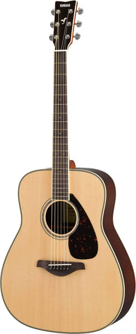 Yamaha FG Series Natural Finish Acoustic Guitar