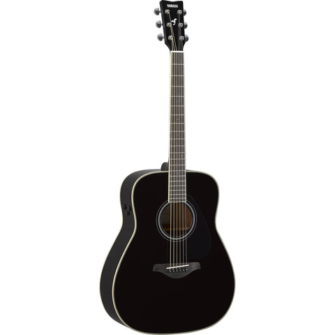 Yamaha TransAcoustic Series Black Acoustic Electric Guitar