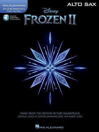 Hal Leonard Instrumental Play-Along -Frozen II for Alto Sax