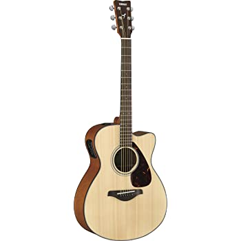 Yamaha FSX800C Natural Finish Small Body Acoustic Electric Guitar