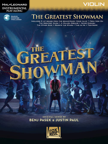 Hal Leonard Instrumental Play-Along -The Greatest Showman for Violin