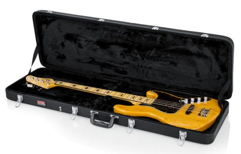 Gator Hard-Shell Wood Bass Guitar Case