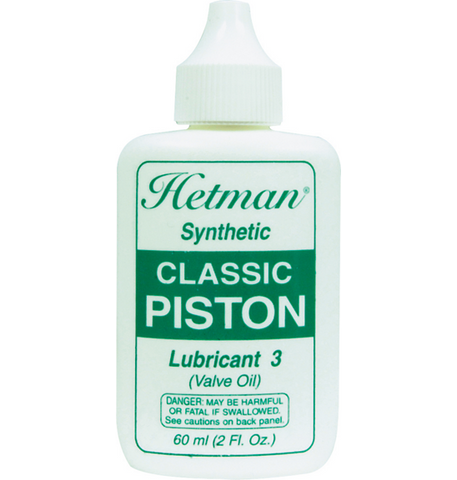 Hetman Synthetic Classic Piston Lubricant 3 Valve Oil
