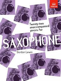 22 Unaccompanied Pieces for Saxophone - Lewin