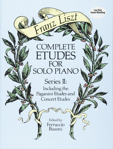 Complete Etudes for Solo Piano, Series II - Liszt
