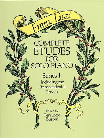Complete Etudes for Solo Piano, Series I - Liszt